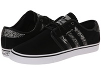 Seeley Bamboo Print Core Black White Solid Grey Men's Skate Shoes