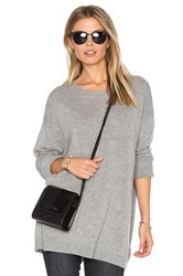 James Perse Oversized Sweater Gray