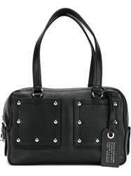 Marc By Marc Jacobs Studded Structured Tote Black