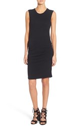 Women's James Perse Ruched Tank Dress True Black