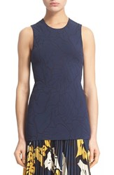 Cedric Charlier Women's Cedric Charlier Floral Jacquard Tank