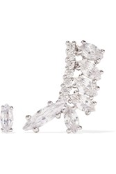 Silver Plated Cubic Zirconia Earrings