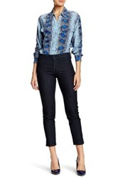 Nydj Clarissa Fitted Ankle Jean Blue