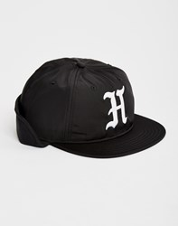 The Hundreds Flint Fitted Hat Black