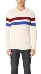 Penfield Omaha Crew Sweater White