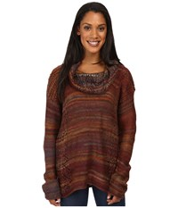 Royal Robbins Sophia Cowl Ruby Women's Sweater Red