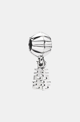 'Double Happiness' Dangle Charm Silver