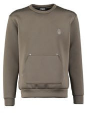Jaded London Luxe Sweatshirt Khaki