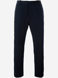 Marni Straight Leg Trousers Blue
