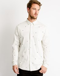 Cheap Monday Vert Shirt Fly Dirty White