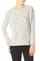 Sanctuary Women's 'Easy Street' High Low Pullover Heather Grey