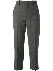 Sonia Rykiel Cropped Tailored Trousers Grey