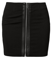 Noisy May Mitty Mini Skirt Black