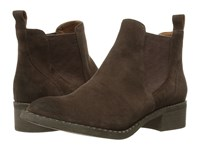 Gentle Souls Binx Dark Brown Suede Women's Shoes