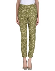 Selected Femme Casual Pants Military Green