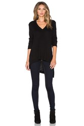 Wilt Thermal V Neck Tunic Black