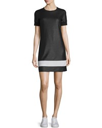 Rag And Bone Rag And Bone Valerie Mesh Mini Dress Black White Size 10