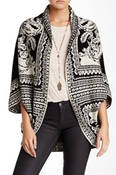 Romeo And Juliet Couture Open Cardigan Black