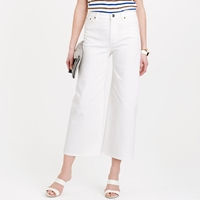 J.Crew Rayner Wide Leg Jean In White