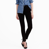 J.Crew Petite Lookout High Rise Jean In Black