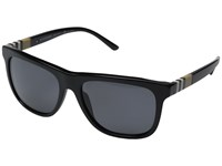 Burberry 0Be4201 Black Polarized Grey
