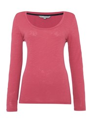Lily And Me Long Sleeved Layering Tee Plum