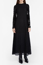 Giamba Women S Sequinned Lace Dress Boutique1 Black