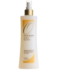 Oscar Blandi Jasmine Protein Mist For Restyling Hair 8.45 Oz