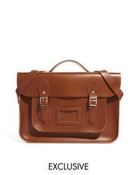 Cambridge Satchel Company Exclusive To Asos 14' Vintage Tan Leather Backpack