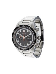 Tudor 'Heritage Chrono' Analog Watch Black