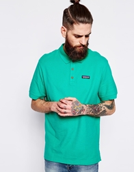 Patagonia Polo With Logo Regular Fit Green