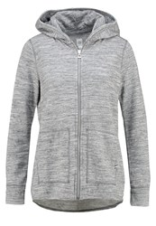 Gap Tracksuit Top Space Dye Grey Marl