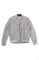 Men's Longjourney Zip Front Cotton Bomber Jacket