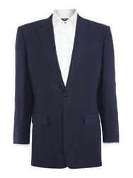 Chester Barrie Classic Linen Jacket Blue