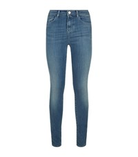 Armani Jeans Faded Skinny Female Blue