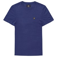 Lyle And Scott Space Dye T Shirt Navy