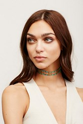 Free People Womens Frequency Choker