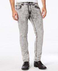 Inc International Concepts Men's Hammond Skinny Fit Acid Wash Jeans Only At Macy's Grey Wash