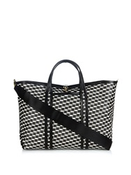 Pierre Hardy Cube Print Coated Canvas Tote