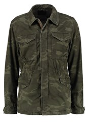 Abercrombie And Fitch Summer Jacket Camo Green