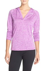 Women's Under Armour 'Twist' Split Neck Hoodie