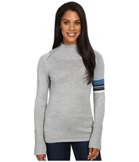 Smartwool Isto Sport Sweater Silver Gray Heather Women's Sweater