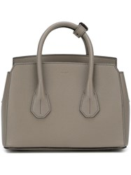 Bally 'Sommet' Tote Grey