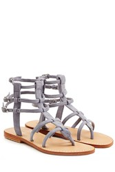 Mystique Suede Sandals Grey