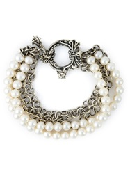 Stephen Webster Pearl Bracelet Metallic