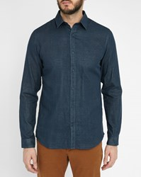 Selected Grey One Steven Small Collar Shirt