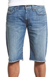 Men's True Religion Brand Jeans 'Geno' Cutoff Denim Shorts