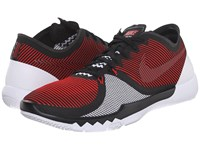 Nike Free Trainer 3.0 V4 University Red Black White Men's Cross Training Shoes
