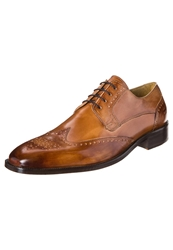 Melvin And Hamilton Jeff Laceups Crust Tan Sommer Brown