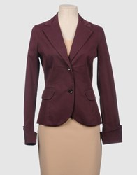 Aniye By Suits And Jackets Blazers Women Maroon